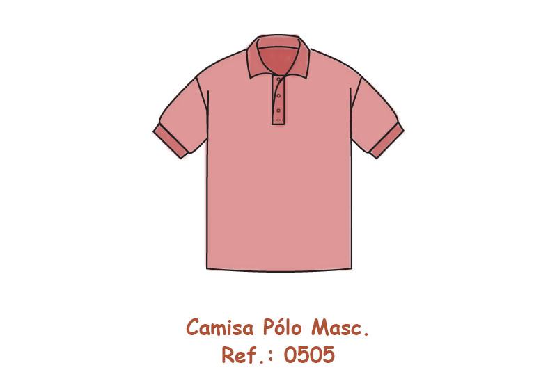Orçamentos - Camisa Pólo Masculina c10fc122023e2